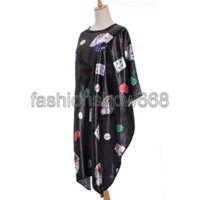 Wholesale 2014 Poker Printed Cloth Salon Hairdressing Hairdresser Hair Cut Cutting Gown Barbers Cape Waterproof Wrap