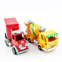 baby casting - 2pcs Parker Thabo Bob the builder engine cartoon scale models die cast vehicle cars dump truck miniature baby loose toys for boy USA SELLER