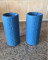 Wholesale 2017 New ARIVAL Fat Gripz Original Bar Grippers Blue gym training big arms Ultimate Arm Builder Hand Grip Free Drop shipping