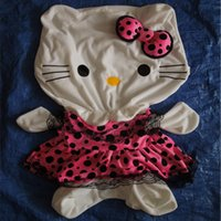 best skin plastic - DIY Hello Kitty SKIN Plush Toy Hull cm Big Size Hello Kitty Doll Christmas Gift Factory Supply The Best Price
