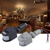Wholesale Quality Electronic Automatic Security PIR Infrared Motion Sensor Detector Switch for LED Light Indoor Outdoor