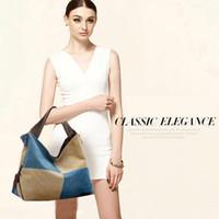 Wholesale Women s Ladies Casual Vintage big Canvas Daily Purse Top Handle Shoulder Tote Shopper Handbag