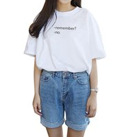 best womens white shirts - Harajuku Style Summer Womens T shirts Short Sleeve O neck T shirt Letter Printed Tops Tee Femme White Black Best Friends T Shirt