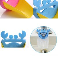 Wholesale Durable Kid Toddler Baby Faucet Washing Hands Bathroom Sink Lovely Crab TT190