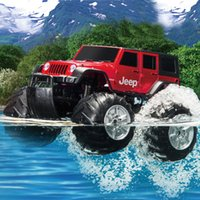 amphibious rc vehicles - XQ MHz Rc Climbing Remote Control Car Electric Car Big Wheel RC Off road Car Amphibious Vehicle Model Toy
