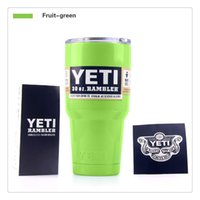 best greens powder - Lim Green Yeti Coolers Fruit Green In Stock Double Wall Stainless Steel Mugs Powder Coated oz Travel Vehicle Best Seller