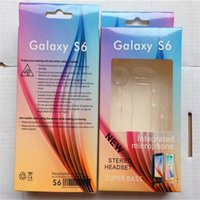 Wholesale Earphone Paper Box Package Empty Boxes Packaging With Plastic Inner For Samsung Galaxy S4 S5 S6 s7 note Headset Retail Package