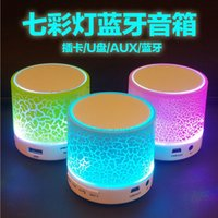 Wholesale Bluetooth mini speaker Wireless Portable Speaker HI FI Music Player Subwoofers Home Audio Support TF Card FM Mp3 Player