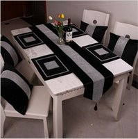 Wholesale Chinese Style piece Cotton Blend Diamante Placemat Dining Table Mat Disc Bowl Pads Cloth
