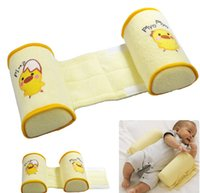 baby cool seat - Retail Toddler Safe Cotton Anti Roll Sleep Head Positioner Anti rollove Baby Pillow
