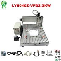 Wholesale High power cnc metal engraving machine Z VFD2 KW with KW VFD Ball screw