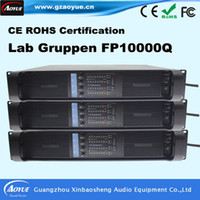 audio amplifier tubes - Lab Gruppen FP10000Q Professional Pro Power Amplifier sound system tube amplifier audio with three year warranty