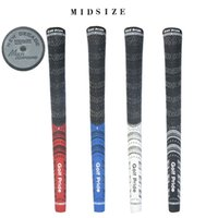 Wholesale Golf Grips Midsize New Decade multicompound Golf Pride Grips Rubber Golf clubs Driver Woods Irons Grips Universal
