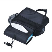 Wholesale 2016 Seat Protector Cover Pouch Auto Car Seat Organizer Holder Multi Pocket Travel Storage Bag Hanger Back For Children Kick Mat Mud