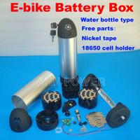 D91*H325mm bicycle bottle battery - 24V V V Ebike battery box case Electric bicycle lithium battery case Water bottle case V li ion batteries box
