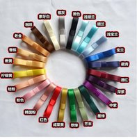 Wholesale 100 M DIY jewelry Ribbon material first flower hair accessories materials MM double sided satin ribbon E127