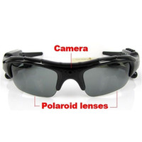 Wholesale 8GB BLuetooth Sunglasses Camera in MP3 Player DVR Mini Camera Camcorder Video Recorder