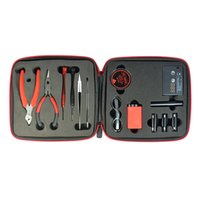 Wholesale Authentic Coil Master DIY V2 KIT TOOL SET Coil Jig ohm Meter Ceramic Tweezer Hot New