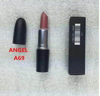 best name brands - Top quality Brand M Makeup Rebel Luster Lipstick Frost Lipstick Matte Lipstick g colors lipstick with english name best selling