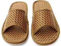 babouches shoes - adult men ladies flat home slippers rattan grass floor babouches flip flops shoes pairs