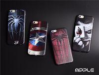 apple comic - Deadpool Marvel comic superhero Phone Case for iPhone s Plus quot iphone7 plus5 quot inch Spiderman ironman Designs
