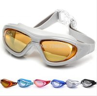 Wholesale New Fashion Non Fogging Anti UV Swimming Swim Goggle Glasses Adjustable Eye Protect Adult