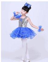 baby dancers - 2016 new arrivel children girl Sequins Jazz dancer sequined dress dance wear
