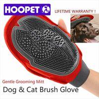 big bubble bath - Cat Pet Dog fur Grooming Groom Glove Mitt Brush Comb Massage Bath Brand New big dog wash tool Bubble maker