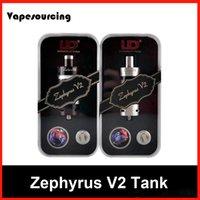 Authentique Youde Zephyrus V2 réservoir 6ml sub ohm réservoir UD Zephyrus V2 réservoir DHL livraison gratuite