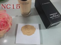 Wholesale 6pcs Brand Makeup STUDIO FIX FLUID SPF15 Matchmaster FOUNDATION ML Glass bottles liquid make up foundation