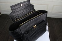 Wholesale Lady Fashion Handbag Real Leather Tote Bags Alligator Pattern Color A Brand Top Grade Gift Package Card Dust Bag CE3368C