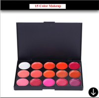 Wholesale HOT sale color Professional makeup plate of lip gloss lip stick the flaw waterproof easy to aplply