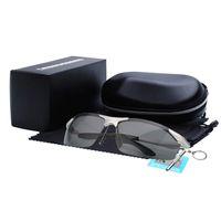 aluminum framework - Polarized Sunglasses Men s Fashion Half Glasses Sunglasses Movement Cycling Driving Framework Aluminum And Magnesium BS