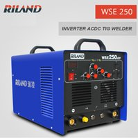 acdc single - Riland ACDC TIG Welding Machine Single Phase V WSE TIG250 ACDC Riland TIG ACDC Welder Weld Aluminium TIG Welding Machine
