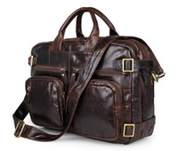 Wholesale Men s business personality and generous leather handbag Crossbody Bag Backpack Messenger Bag quot Laptop Bag Shoulder Bag