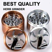 best cranks - Original Sharpstone Grinder Crank Handle herb smoking accessories grinders metal for tobacco best quality inches