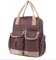 baby changing bag pattern - Fashion Dot Pattern Backpack Diaper Bag Color Diaper and Mother Bags Baby Diaper Nappy Changing Bag Bolsa de Mano Para Botella