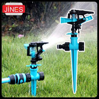 Wholesale Farm Landscaping Sprinklers double inlet buried automatic garden sprinklers swing Plant Lawn Roof cooling tool