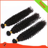 Wholesale 8A Brazilian Curly Remy hair Unprocessed human hair weft New Wave Natural Black Human Hair Bundles Dyeable Best Quality Hair Weft