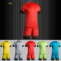 Cheap customized team uniforms - ZD1604 soccer traning set wholesale uniforms! soccer sets customized your team logos, soccer sets,football shirts, free DHL shipping
