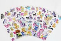 Wholesale Hot sale Retail theme Cartoon Puffy stickers toys Frozen patrol dog the Avengers superman sesame street minions childrens wall stickers