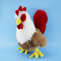 beautiful cocks - 2016 Cock Figure Plush Toys With Beautiful facade Styles cm For Baby Gifts