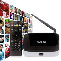 Wholesale Quad Core G G Q7 CS918 Android TV Box RK3188T XBMC Wifi P G with Remote Control better than MXQ MXV M8 MS tv box