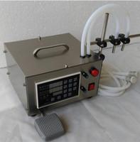Wholesale double head Microcomputer Automatic Water Liquid Filling Machine L min