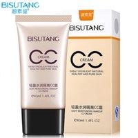 Wholesale BB CC Creams Makeup Sun Block Sunscreen Nude Make up Water Regulation Face care Repai Perfecting Concealer Moisturizer Liquid Foundation Li
