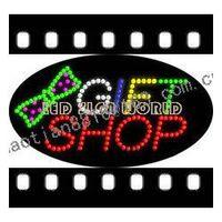 Wholesale Free custom Gift shop LED signs hot sale