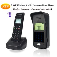 Wholesale Remote Unlock GHz Full duplex intercom Digital Wireless Audio Intercom Monitor Door Phone F1652A