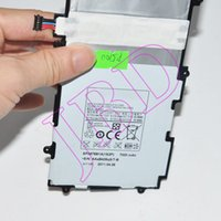Wholesale 4600mah capaciry Tablet PC batteries for samsung GALAXY Tab P5100 V batteries with price