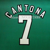 Wholesale cantona name number set Cashmere material velvet