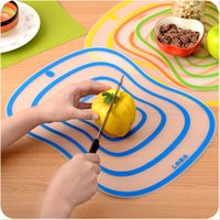 Wholesale Authentic Non slip cutting board mat Frosted Antibacteria Chopping Block for Vegetable Meat Home kitchen accessories cooking tool